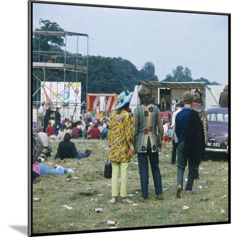 Hippies in Woburn 1969--Mounted Photographic Print