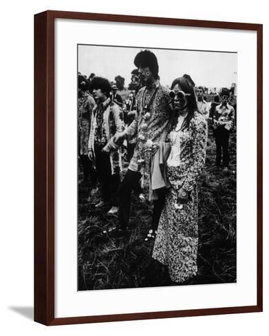 Flower Power 1967--Framed Art Print