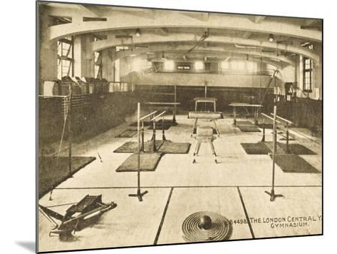 London Central YMCA Gymnasium--Mounted Photographic Print