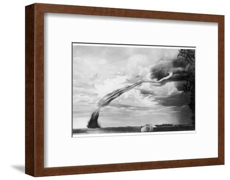Jasper Tornado USA--Framed Art Print
