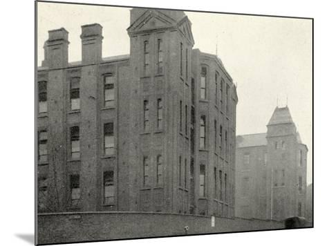 Infirmary Ward Blocks at Hackney Union Workhouse on Homerton High Street-Peter Higginbotham-Mounted Photographic Print