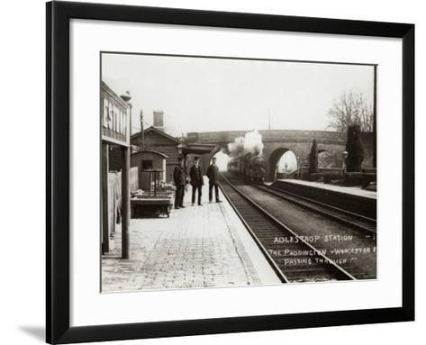 Adlestrop Railway Station, Gloucestershire-Peter Higginbotham-Framed Art Print