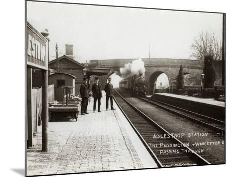Adlestrop Railway Station, Gloucestershire-Peter Higginbotham-Mounted Photographic Print