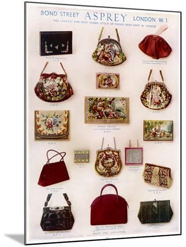 Asprey Handbags Advertisement--Mounted Photographic Print