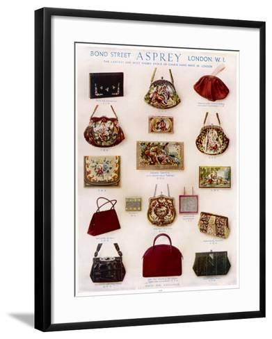 Asprey Handbags Advertisement--Framed Art Print