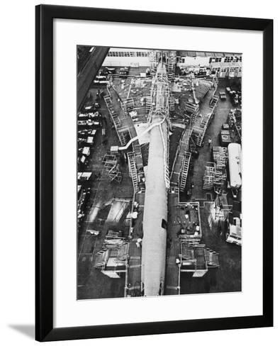 Concorde Construction--Framed Art Print