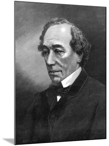 Benjamin Disraeli, (1804-1881)--Mounted Photographic Print