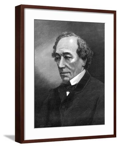 Benjamin Disraeli, (1804-1881)--Framed Art Print