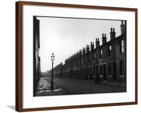 Back to Back Houses-Henry Grant-Framed Art Print