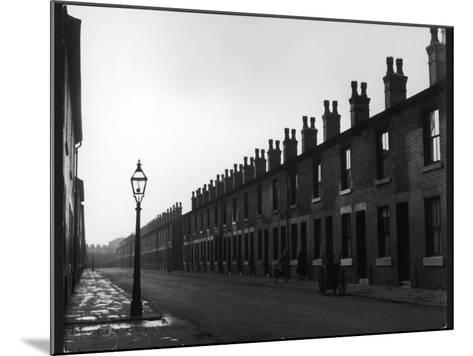Back to Back Houses-Henry Grant-Mounted Photographic Print