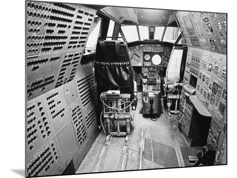 Concorde's Cockpit--Mounted Photographic Print