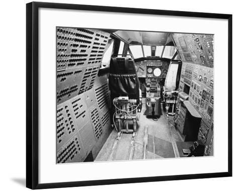 Concorde's Cockpit--Framed Art Print