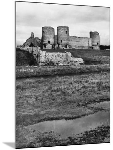 Rhuddlan Castle--Mounted Photographic Print