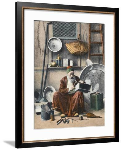 A Turkish Tinker--Framed Art Print