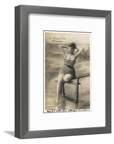 Bathing Beauty--Framed Art Print