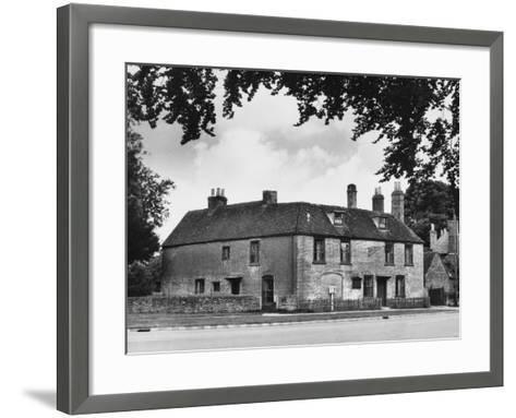 Jane Austen's Home--Framed Art Print