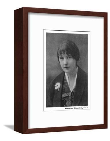 Katherine Mansfield 1--Framed Art Print