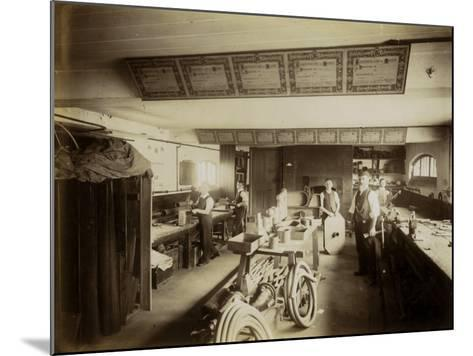 Kensington and Chelsea District School, Plumber's Shop-Peter Higginbotham-Mounted Photographic Print