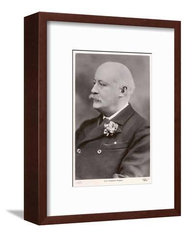 Charles Hubert Parry, English Composer--Framed Art Print
