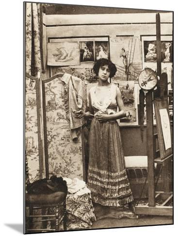 Parisian Prostitute--Mounted Photographic Print