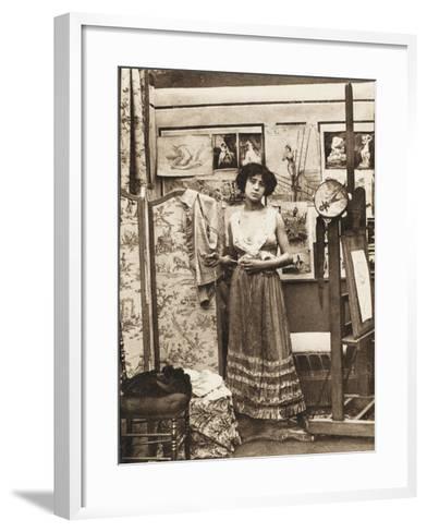 Parisian Prostitute--Framed Art Print