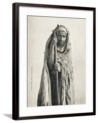 Poor Man - Sidi Meskine, Algeria--Framed Art Print