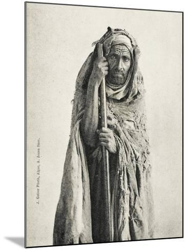 Poor Man - Sidi Meskine, Algeria--Mounted Photographic Print