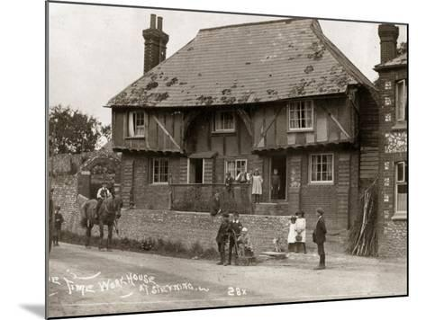 Parish Workhouse, Steyning, Sussex-Peter Higginbotham-Mounted Photographic Print