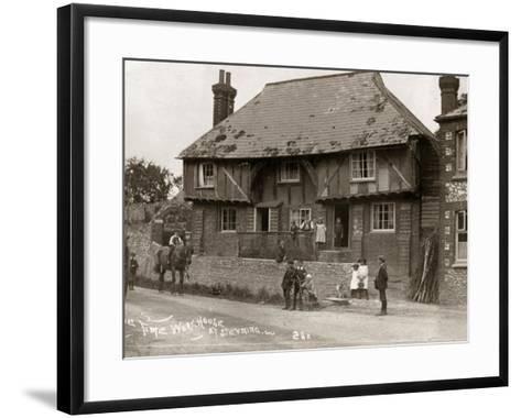 Parish Workhouse, Steyning, Sussex-Peter Higginbotham-Framed Art Print