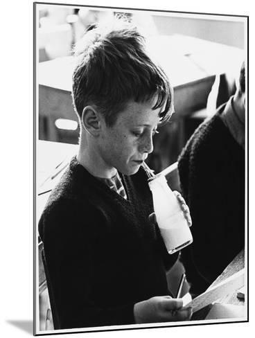 School Milk 1960s--Mounted Photographic Print