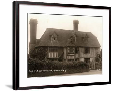 Parish Workhouse, Brenchley, Kent-Peter Higginbotham-Framed Art Print