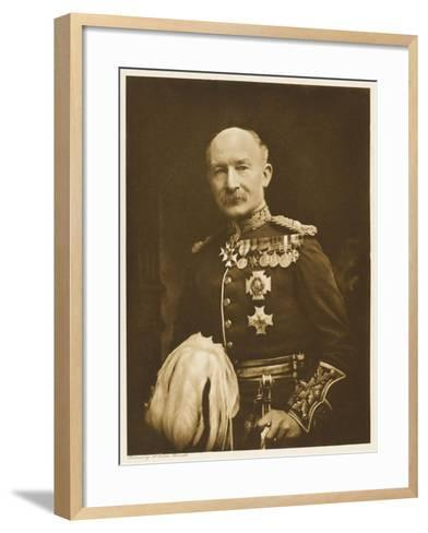Robert Stephenson Smyth, Lord Baden-Powell Soldier , Later Founder of the Boy Scout Movement--Framed Art Print