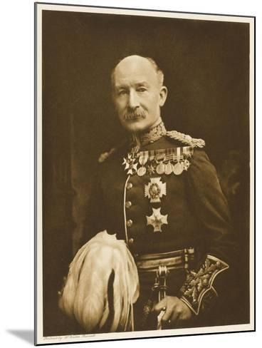 Robert Stephenson Smyth, Lord Baden-Powell Soldier , Later Founder of the Boy Scout Movement--Mounted Photographic Print