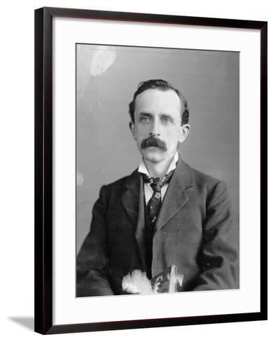 Sir James Barrie, 1900--Framed Art Print