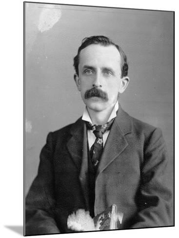 Sir James Barrie, 1900--Mounted Photographic Print