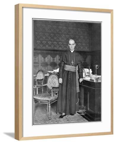 Rafael Merry Del Val Spanish Prelate, Secretary of State at the Vatican--Framed Art Print