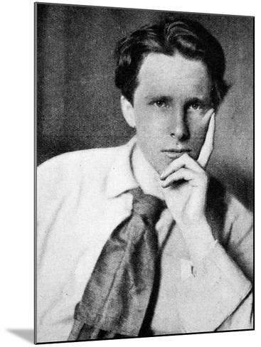 Rupert Brooke, 1915--Mounted Photographic Print