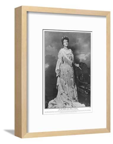 Queen Amelie of Portugal--Framed Art Print