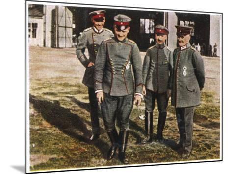 Manfred Von Richthofen--Mounted Photographic Print