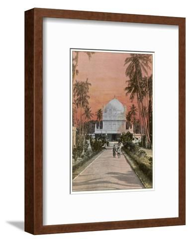 Mysore: Tombs of Tippoo Sahib and Hyder Ali--Framed Art Print