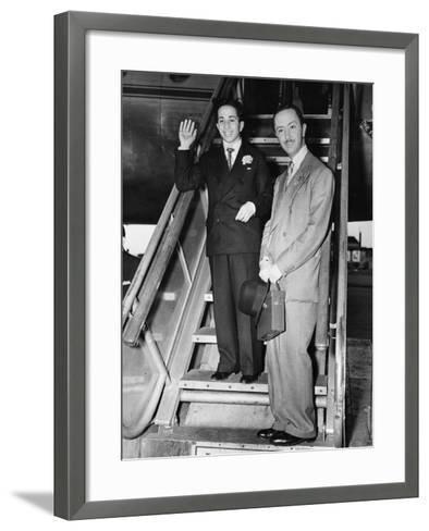 King Faisal II of Iraq--Framed Art Print