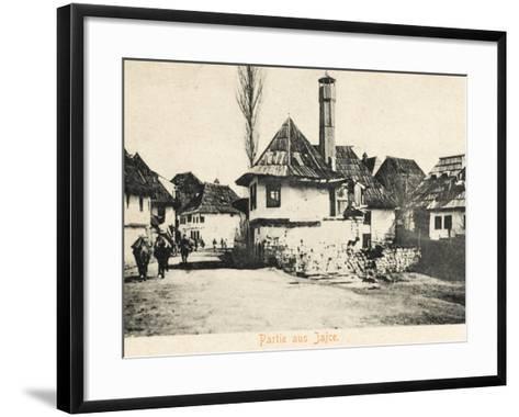 Jajce - Bosnia Herzegovina--Framed Art Print
