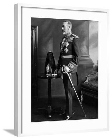 King George V. 1930--Framed Art Print
