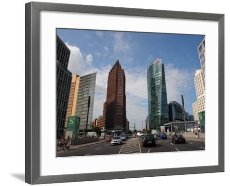 Modern Buildings, Potsdamer Platz, Berlin, Germany--Framed Art Print