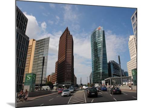 Modern Buildings, Potsdamer Platz, Berlin, Germany--Mounted Photographic Print
