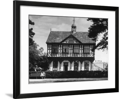 Leominster Grange House--Framed Art Print