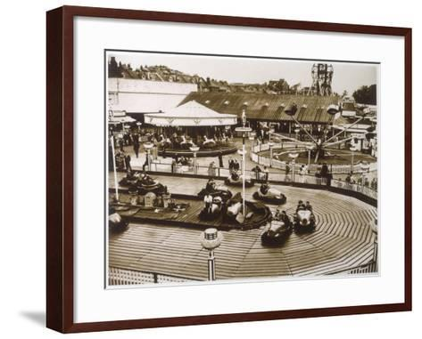 Monte Carlo Rally' Electric Car Ride at Dreamland, Margate--Framed Art Print