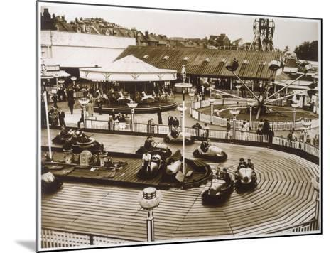 Monte Carlo Rally' Electric Car Ride at Dreamland, Margate--Mounted Photographic Print