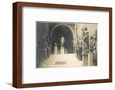 Roman Graeco, 3rd Saloon, British Museum, London, England--Framed Art Print