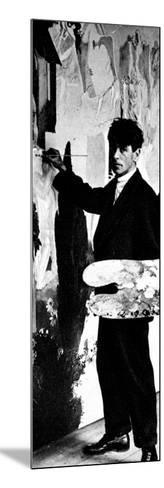 Sir Stanley Spencer, 1926--Mounted Photographic Print